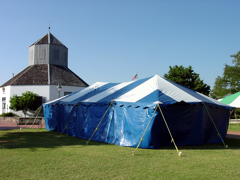 20x40 pole type party tent