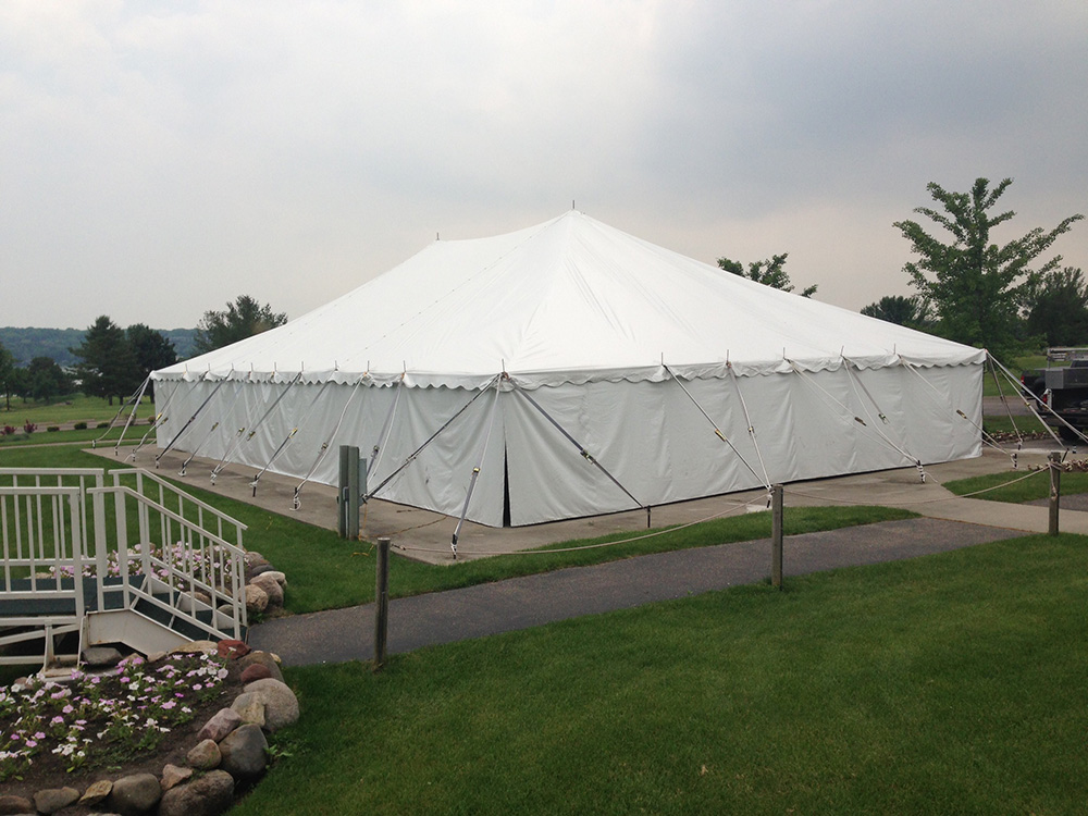 40x60 pole type party tent