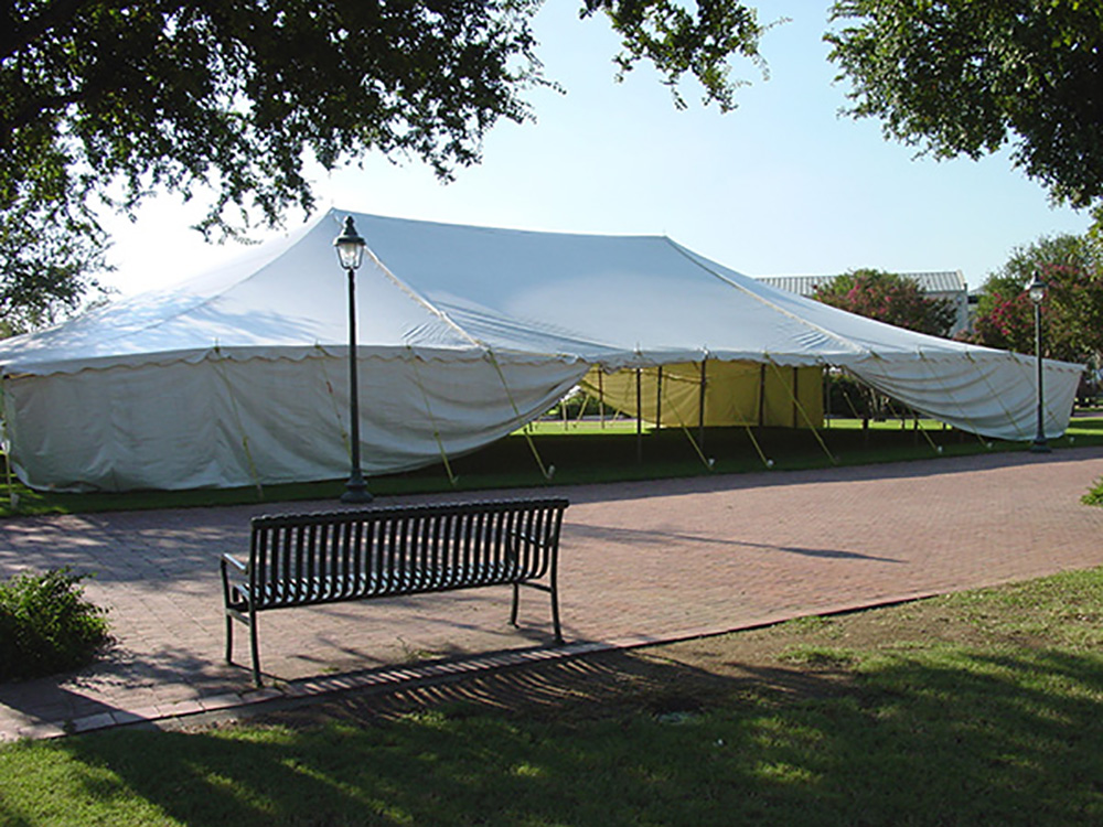 50x80 pole type party tent
