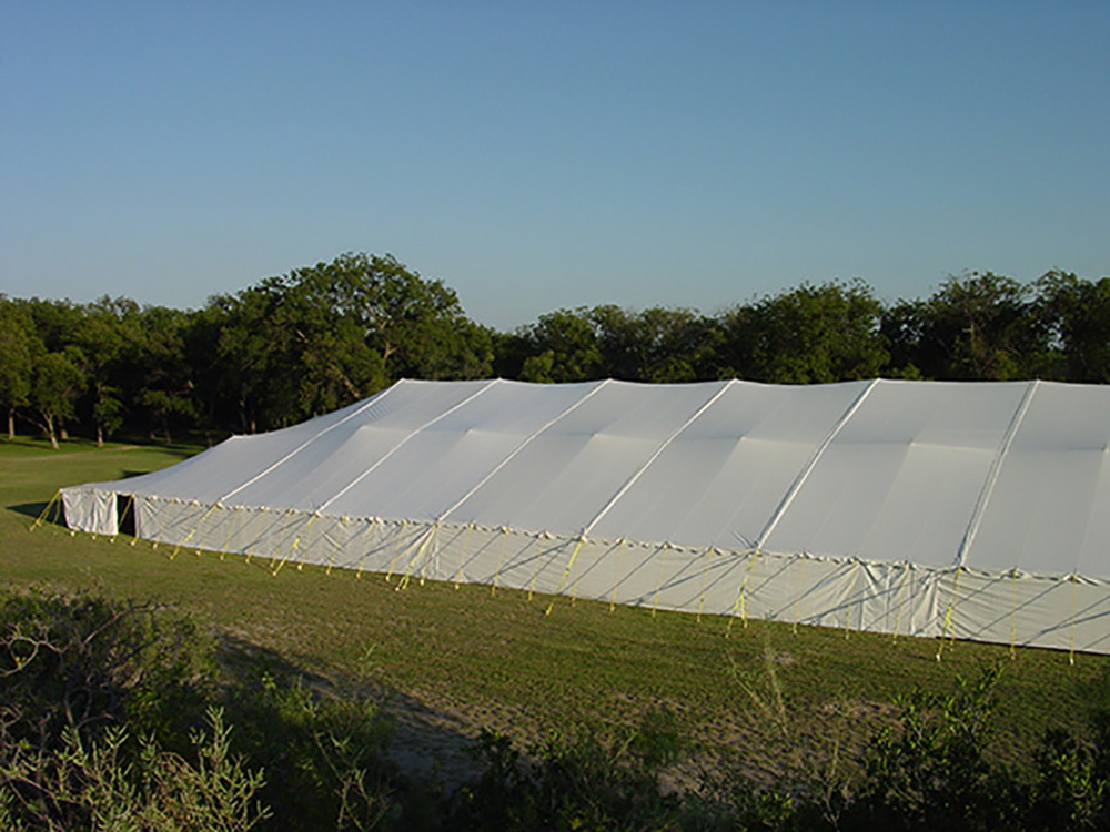 80x220 pole type party tent