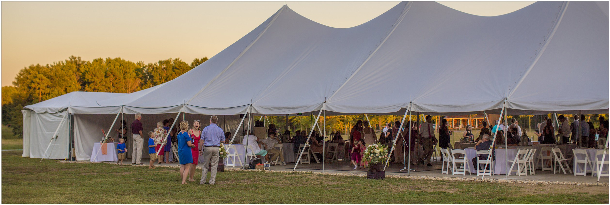 high peak wedding tents